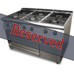 Mareno 6 Burner Oven