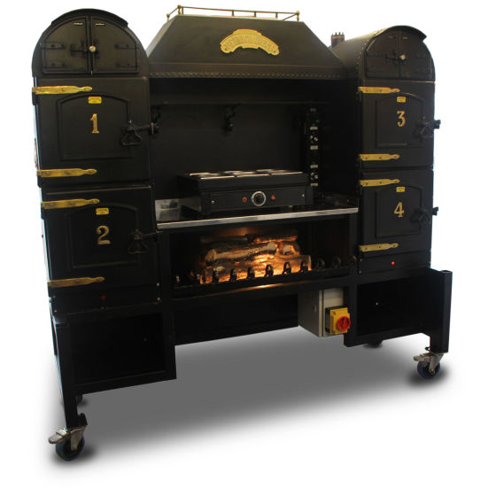 Victorian Pickwick Potato Oven Range