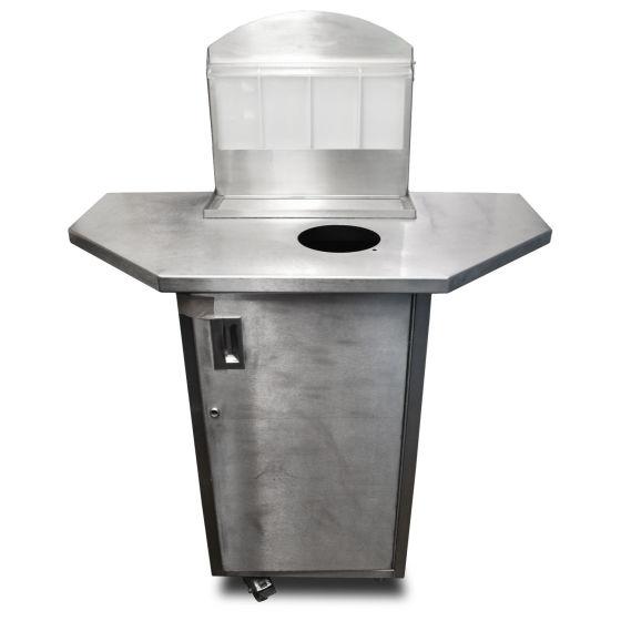 Stainless Steel Wastebin Unit
