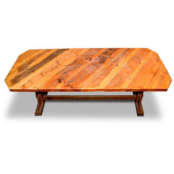 Long Lightwood Table