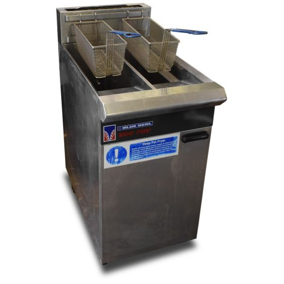 Blue Seal V-Ray Twin Tank Fryer