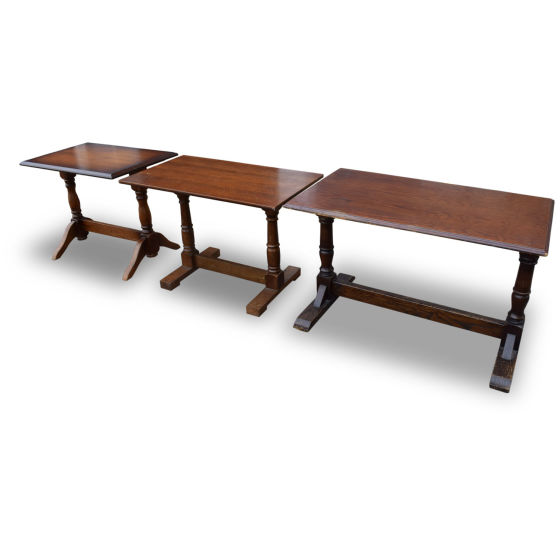 Various Rectangle Tables x3