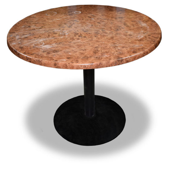 Large Walnut Round Table