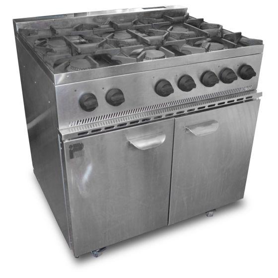 Parry 6 Burner Oven Range