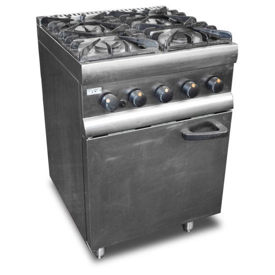 Lincat Four Burner Oven Range