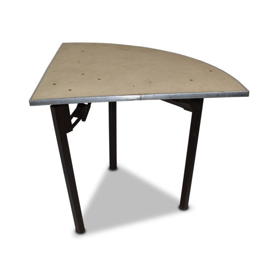 Quarter Fabric Trestle Table