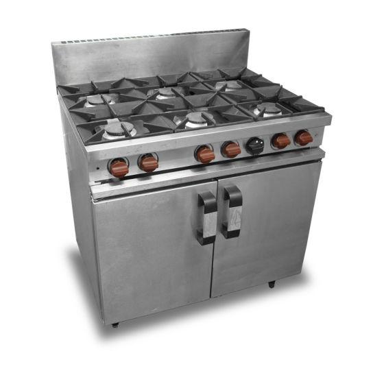 Vulcan 6 Burner Oven Range