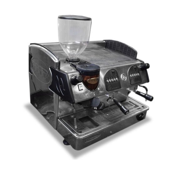 Stafco Two Group Coffee Machine & Grinder