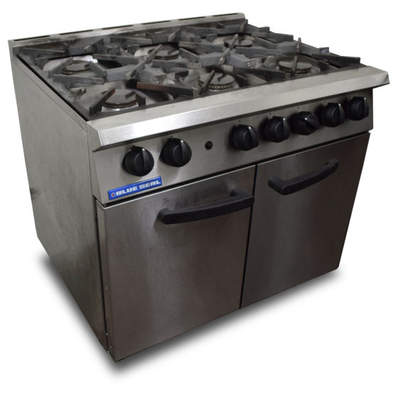 Blue Seal Six Burner Oven Range
