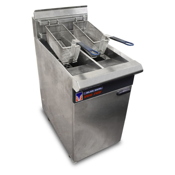 Blue Seal Vee Ray Twin Tank Fryer