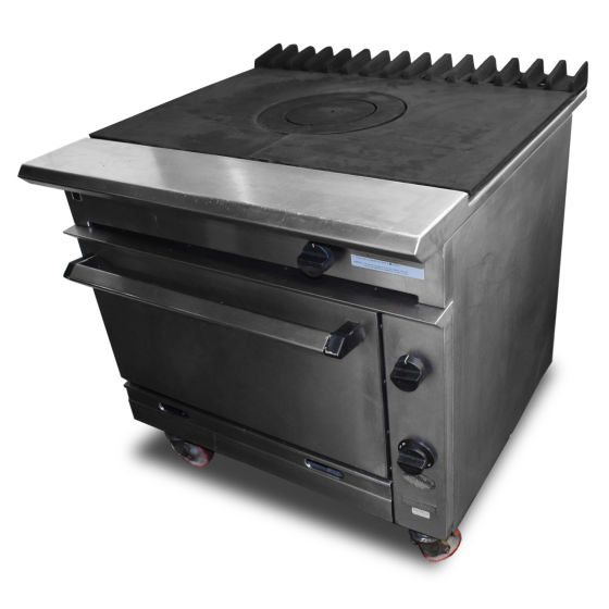 Falcon Chieftain Solid Top Oven Range
