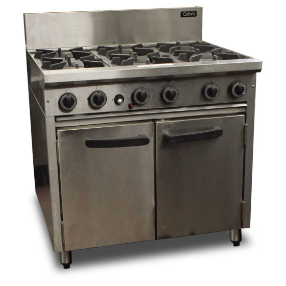 Cobra by Blue Seal 6 Burner Oven Range