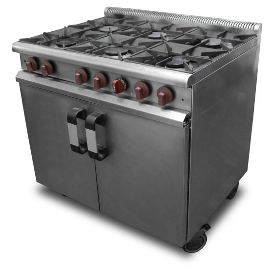 Masterchef 6 Burner Oven Range
