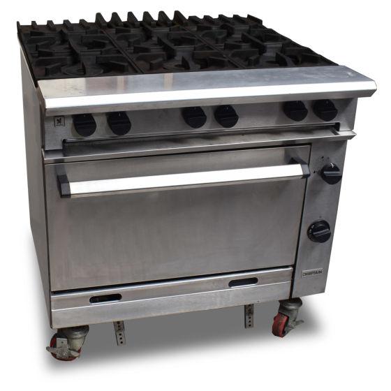 Falcon Chieftain 6 Burner Oven