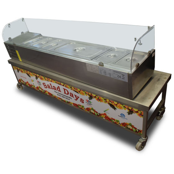Cater-Bake Saladette & Stand