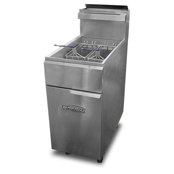 Imperial Single Tank Double Fryer