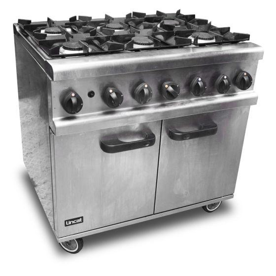 Lincat Six Burner Oven Range