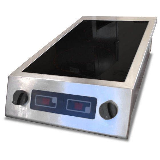 2 Ring Induction Boiling Top