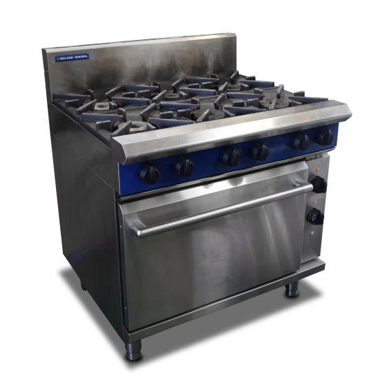 Blue Seal Dual Fuel 6 Burner Oven