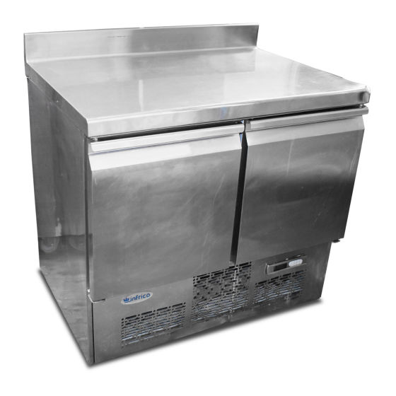 Infrico 2 Door Prep Fridge