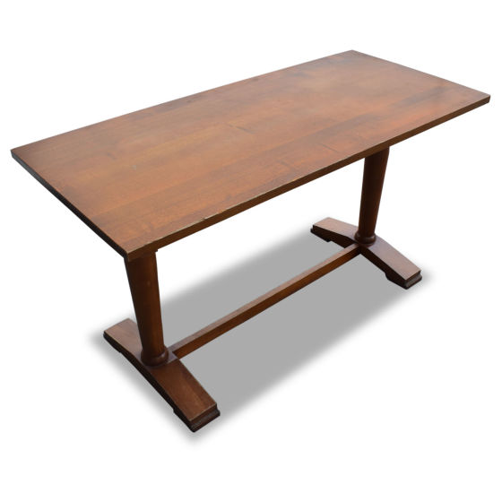 x2 Wooden Rectangle Tables