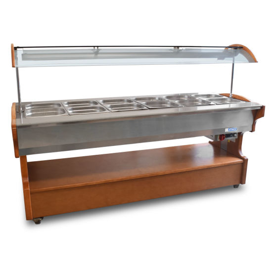 Heated Buffet Counter