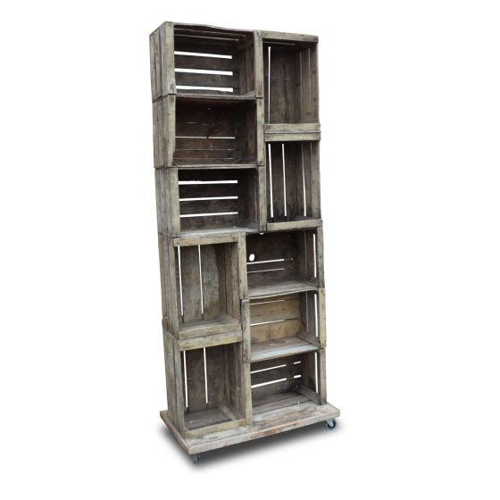 Crate Shelving Unit