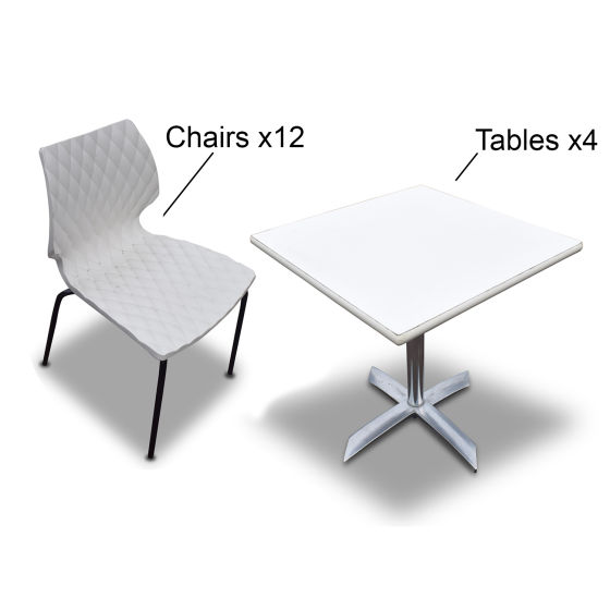 Modern Tables & Chairs Set