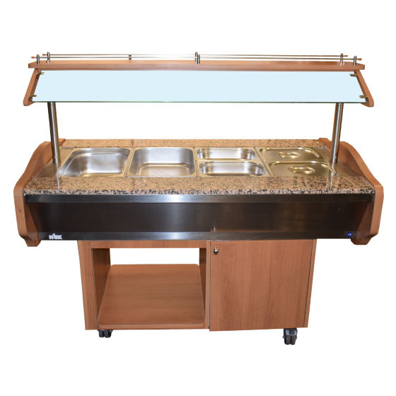 Hick Heated Buffet Counter