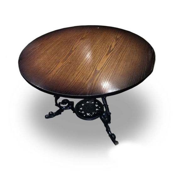 Darkwood Large Round Table
