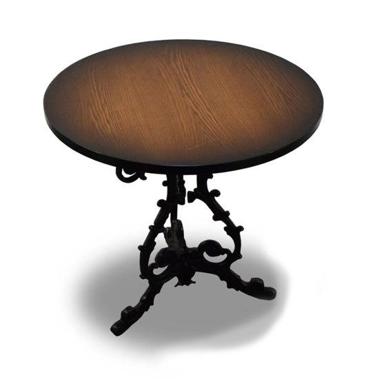 x2 Darkwood Round Tables