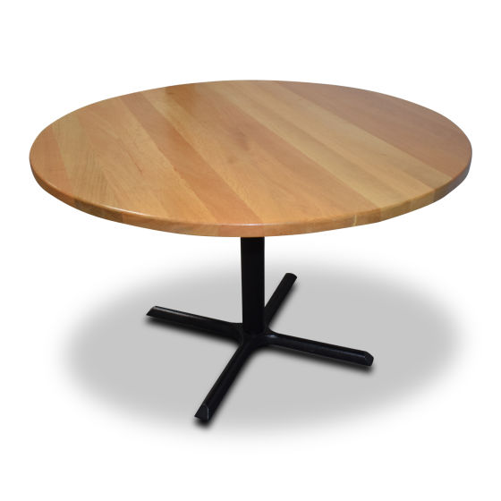 Solid Oak Round Tables x3