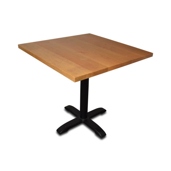 x9 Solid Oak Square Tables