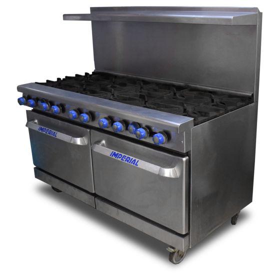 Imperial 10 Burner Oven Range