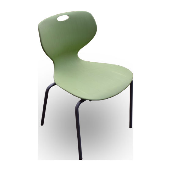 x10 Green Plastic Chairs