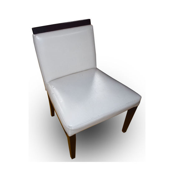 x8 Cream Leather Chairs