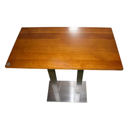 Tall Lightwood Poseur Table