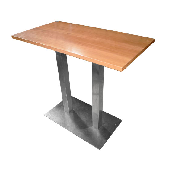 x3 Lightwood Poseur Tables