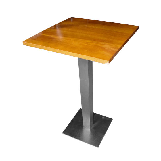 Tall Square Poseur Table