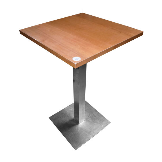 Small Sqaure Poseur Table