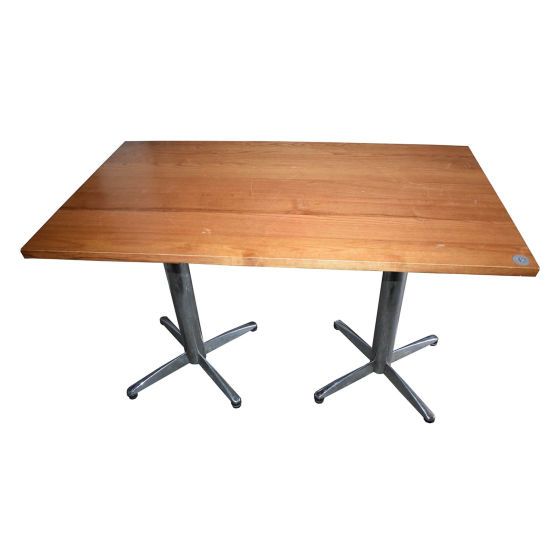 x6 Double Lightwood Tables
