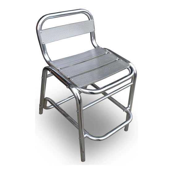 x11 Outdoor Stainless Steel Chairs