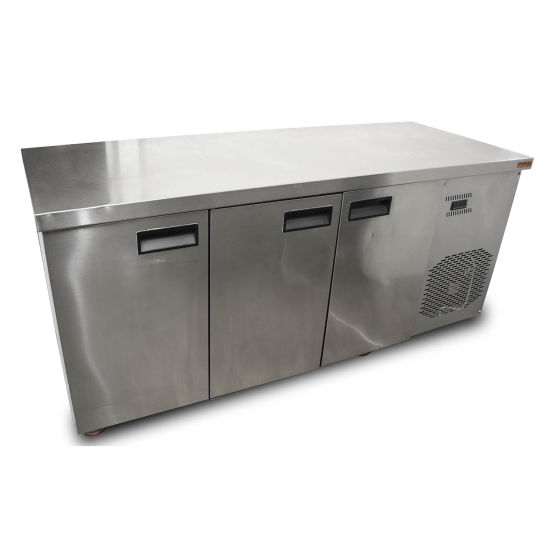 Inomak 3 Door Prep Fridge