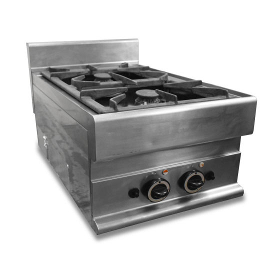 Gas Two Burner Boiling Top