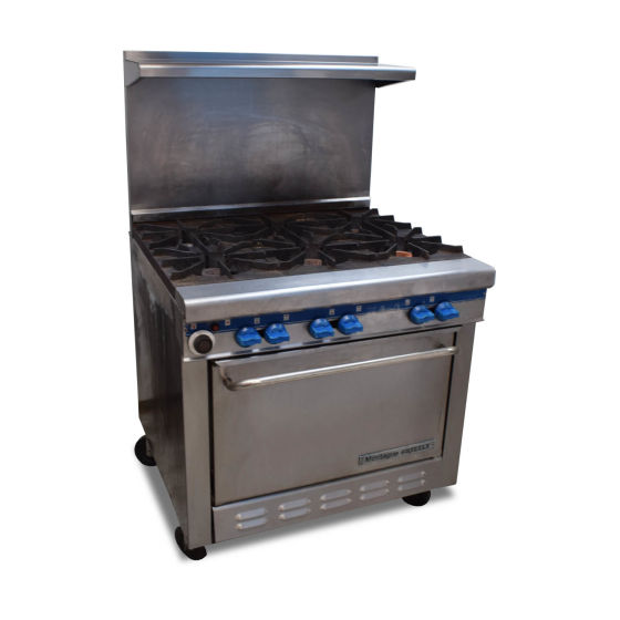 Montague Grizzly 6 Burner Oven Range