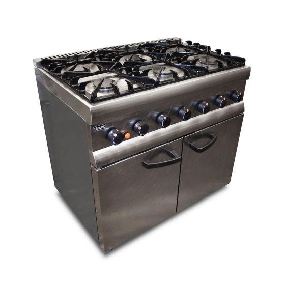 Lincat 6 Burner Oven Range