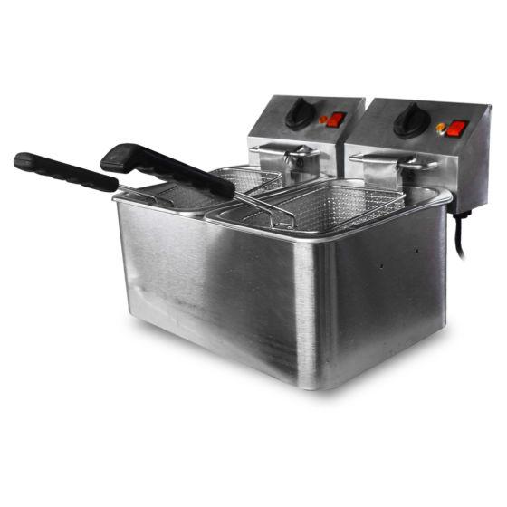 Horeca Tabletop Twin Tank Fryer