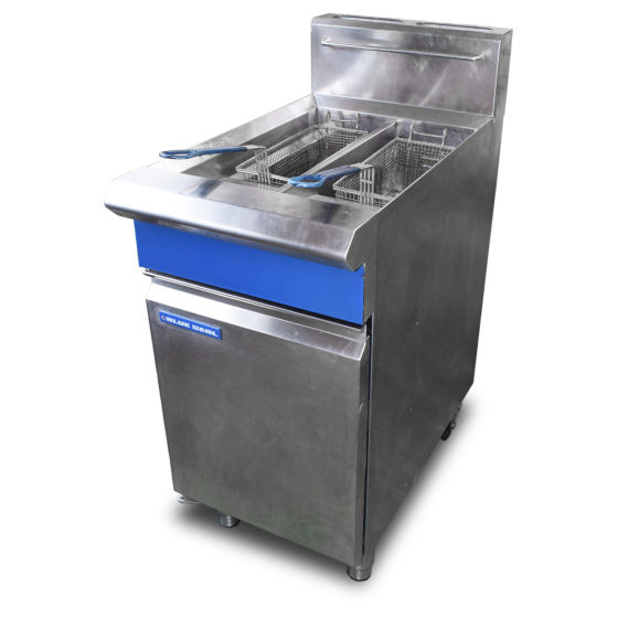 Blue Seal Twin Tank Fryer