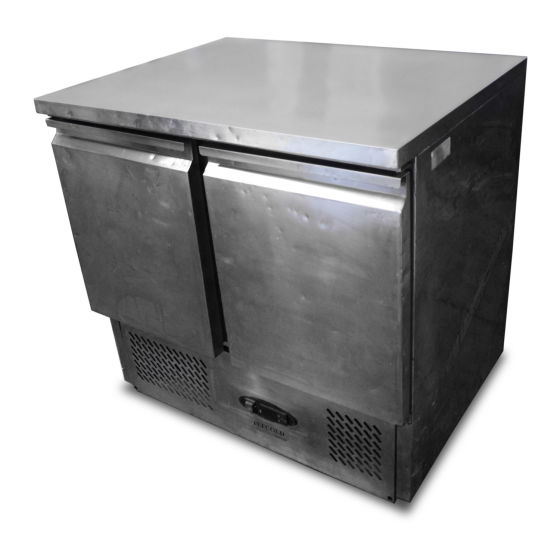 Tefcold Under Counter Double Fridge