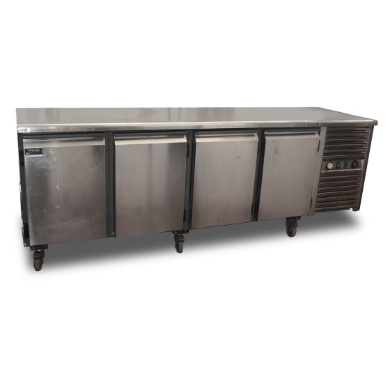 Afinox 4 Door Prep Fridge